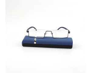 half rim blue light reading glasses