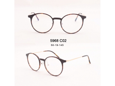 round optical frames, trendy eyewear 2020