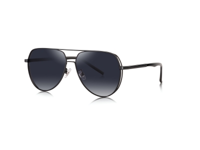 7069 fashion design metal sunglasses
