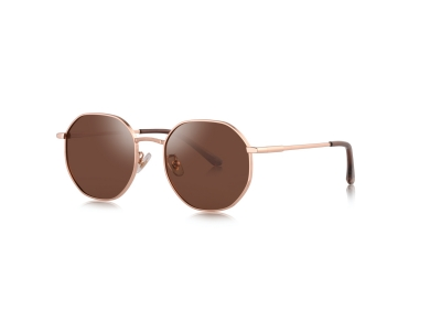 7090 new fashion round sunglasses