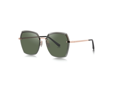 7095 rimless new fashion sunglasses